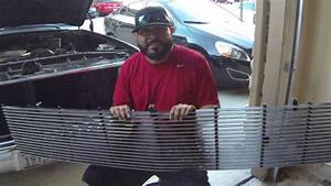 How To Install A Phantom Billet Grill On A Chevy C10