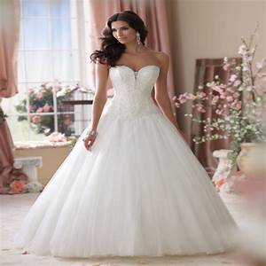 2015 new bandage tube top embroidery tulle ball gown With mermaid ball gown wedding dresses
