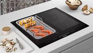 free teppanyaki or griddle plate when flexinduction hob is With flexinduktion