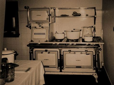 Antique Stove And 1920's Kitchen  Antique Stove