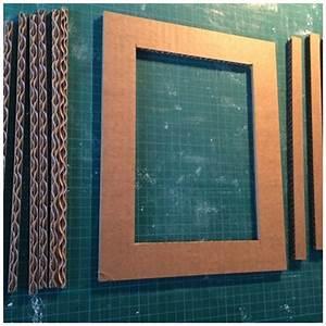 Créer Un Cadre Photo : tutoriel pour cr er un cadre en carton lpb carton ~ Melissatoandfro.com Idées de Décoration