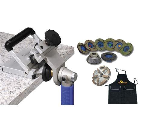 seam and edge polishing kit from granite
