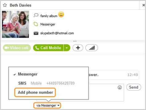 skype bureau windows comment envoyer un message instantané dans skype pour