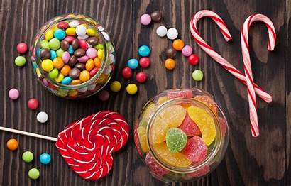 Candy Colorful Lollipop Candies Sweet Background Sweets