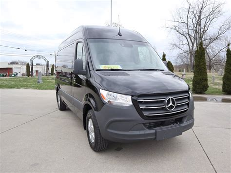 Please note, this van is a current rental vehicle and mileage may be slightly higher. Pre-Owned 2019 Mercedes-Benz Sprinter Passenger Van Full-size Passenger Van in Parkersburg # ...