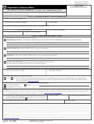 va form 21 0788 download fillable pdf information