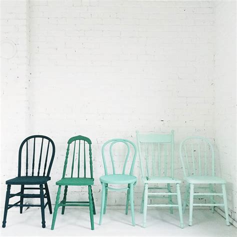 Chair Ombre by Ombre Your Furniture With These 11 Diys Brit Co