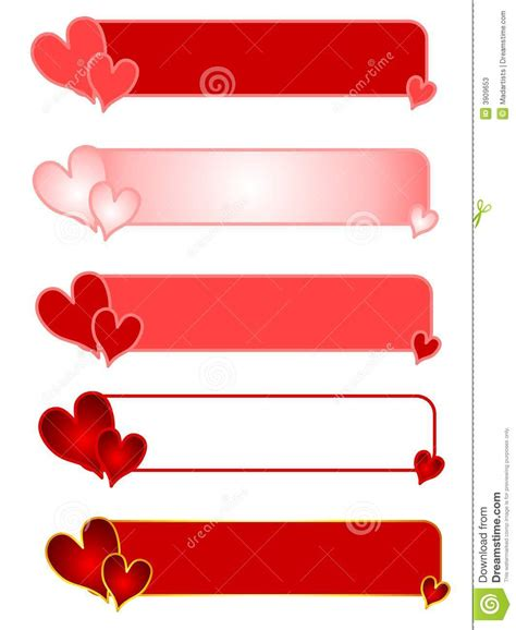 Valentine's Day Heart Logos Or Banners Stock Illustration. Case Signs Of Stroke. Nhs Signs Of Stroke. Outdoor Lighted Signs. Artistic Logo. Face Painting Signs. Mum Banners. Construction Site Signs Of Stroke. Gamma Signs Of Stroke