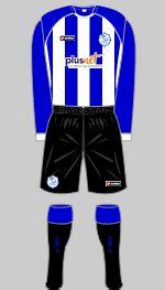 Sheffield Wednesday 2007-08 kit