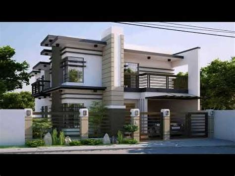 Two Storey Residential House Floor Plan Philippines Youtube
