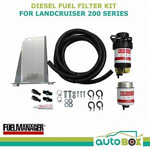 Diesel Fuel Filter Water Separator Toyota Landcruiser 200