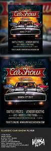 Classic Car Show Flyer by VORSA | GraphicRiver