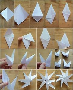 Papiersterne Falten Anleitung Kostenlos : manualidades con papel retocando el ambiente navide o ~ Buech-reservation.com Haus und Dekorationen