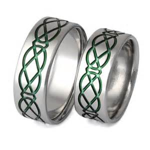 home titanium wedding ring sets matching celtic With irish wedding ring sets
