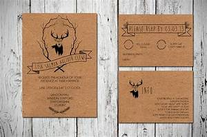 1000 images about handmade wedding on pinterest With rustic stag wedding invitations