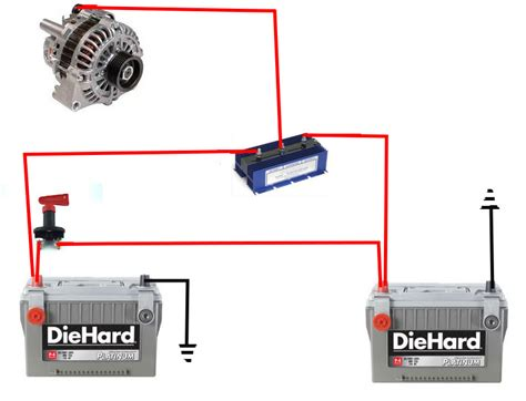 Dual Battery Isolator Wiring Diagram by Cklik And Klop How To Fix A Car Battery