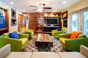 Catch The Game At Home Man Caves For Sports Fans HGTV