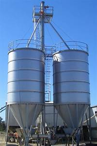 Feed And Pellet Silos
