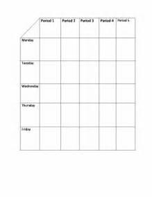 Microsoft Word Table Templates