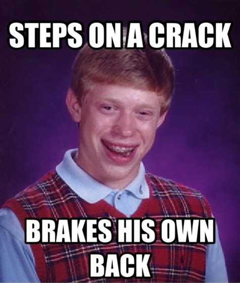 Bad Luck Meme - 25 best unlucky brian images on pinterest hilarious chistes and funny memes
