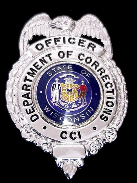 correction bureau collector 39 s badges prison and correction badges