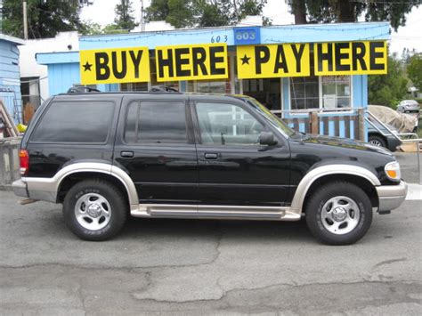 2000 Ford Explorer Eddie Bauer Package #5194 Sold!
