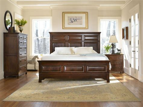 stickley benton king panel bed furniture pinterest