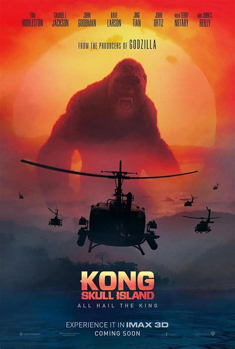 kong skull island  poster  trailer addict