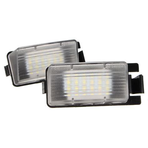 License Plate Light by Pair 18led Number License Plate Light L Bulb White For