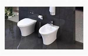 Wc Mit Bidet : stand wc tiefsp l wc stand wc mit keramik sp lkasten ~ Lizthompson.info Haus und Dekorationen
