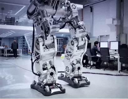 Robot Method Giant Sci Fi Reality Steps