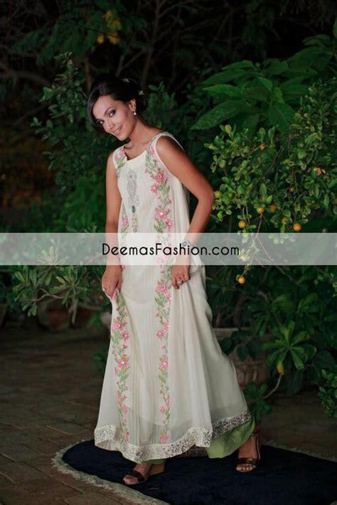white green casual aline dress latest designer dresses