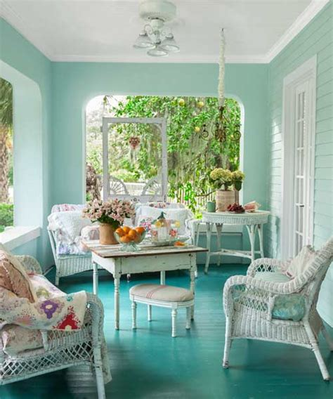 walls painted blue and green home decorating ideas