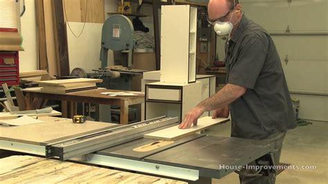 diy cabinet building cutting melamine edge banding tape youtube