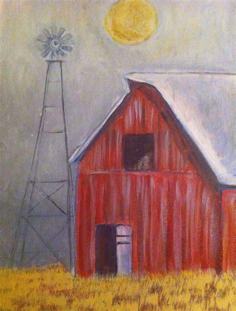 watercolor painting on plexiglass best 25 barn paintings ideas on sunset