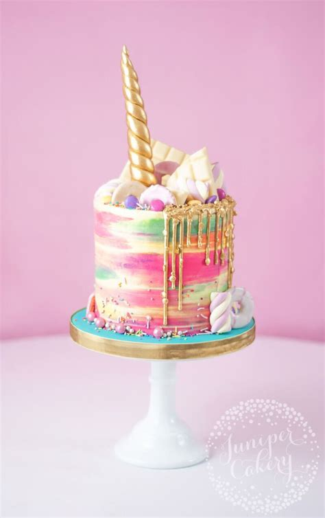 super magical rainbow unicorn cake cakes  cupcakes