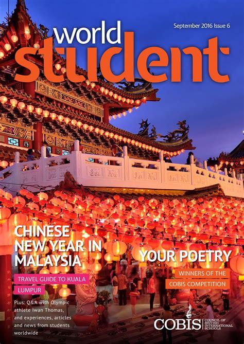 World Student magazine - a new print and digital magazine ...