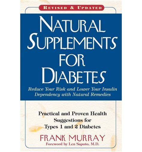 natural supplements  diabetes frank murray