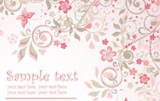 pink floral background vector vector free
