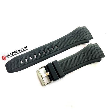 tali jam eiger iyw rubber jual tali jam tangan r14w037 eiger iyw0101 hitam di lapak superior watch farhan