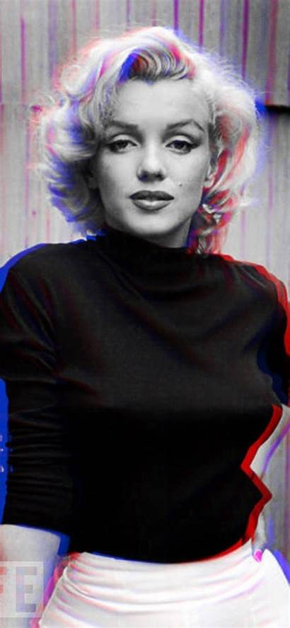 Monroe Marilyn Iphone Xs Wallpapers Anaglyph Saving