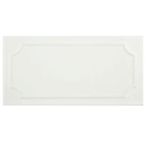 4x8 subway tile home depot merola tile santorini blanco 4 in x 8 in ceramic wall
