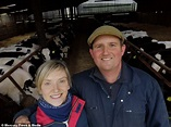 South Yorkshire farmer Jim Beary poses up as Holly ...