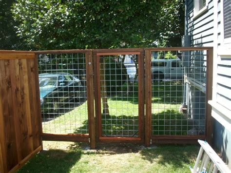Black Hog Fence Panel