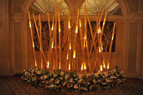 bamboo sticks  flowers decor bamboo decor bamboo