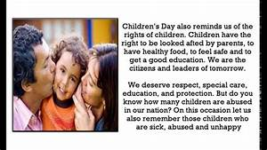 Speech for Children's day | Children's day (Bal Diwas ...