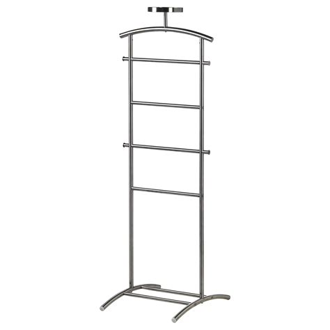 valet de chambre alinea grundtal valet stand stainless steel 128 cm ikea