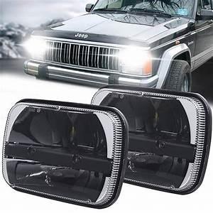 Jeep Xj Led Headlights Conversion U0026upgrade Size