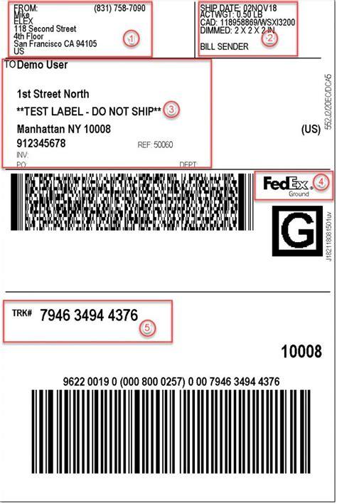 print fedex shipping labels   woocommerce