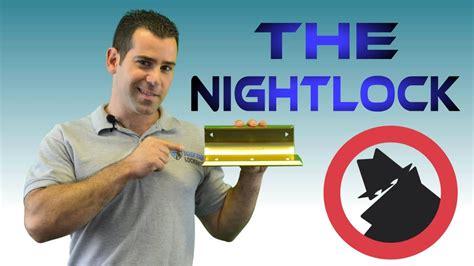 nightlock door barricade double door security tips